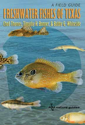 Freshwater Fishes of Texas A Field Guide  2007 edition cover