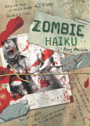 Zombie Haiku Good Poetry for Your... Brains  2008 edition cover