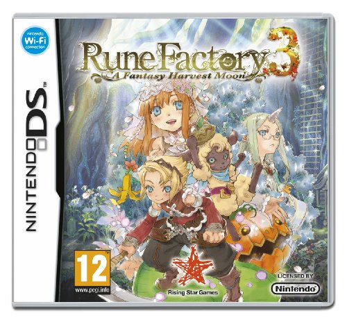 Rune Factory 3 (Nintendo DS) Nintendo DS artwork