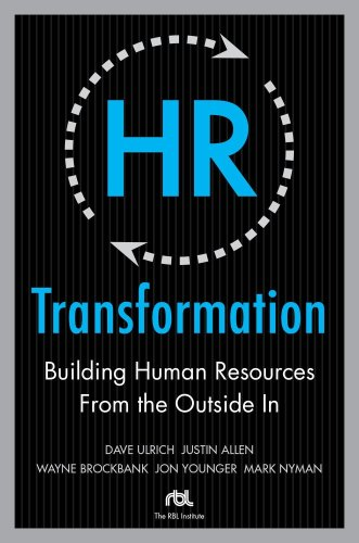 HR Transformation Building Human Resources from the Outside In  2009 edition cover