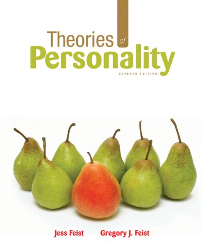 Theories of Personality  7th 2009 edition cover