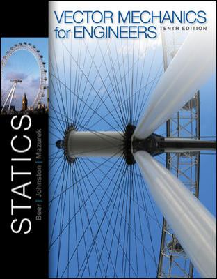 Vector Mechanics for Engineers  10th 2013 edition cover