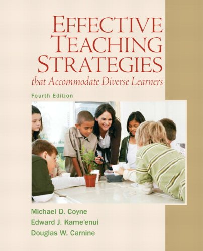 Effective Teaching Strategies That Accommodate Diverse Learners  4th 2011 edition cover