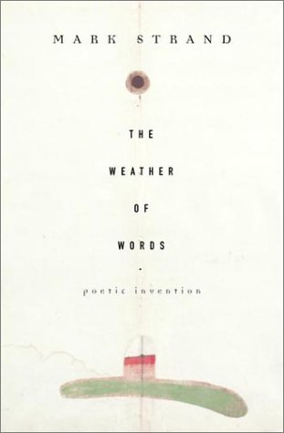 Weather of Words Poetic Invention N/A edition cover