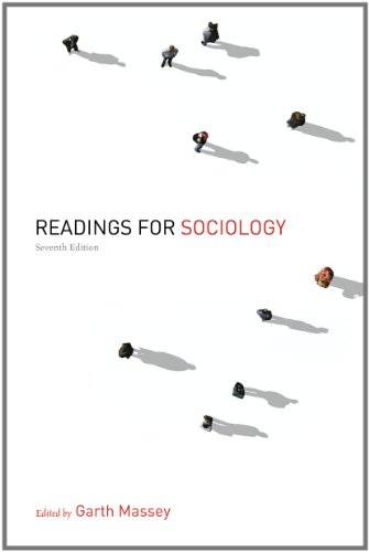 Readings for Sociology  7th 2012 edition cover