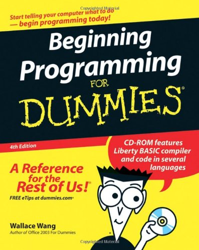 Beginning Programming for Dummies�  4th 2007 (Revised) edition cover