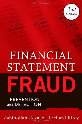 Financial Statement Fraud Prevention and Detection 2nd 2009 edition cover