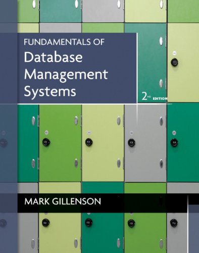 Fundamentals of Database Management Systems  2nd 2012 edition cover