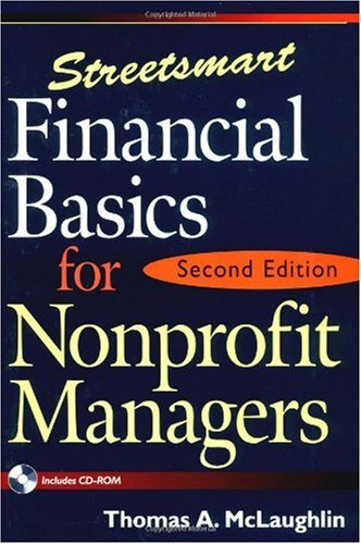 Streetsmart Financial Basics for Nonprofit Managers  2nd 2002 (Revised) edition cover