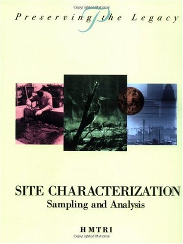 Site Characterization Sampling and Analysis  1997 edition cover