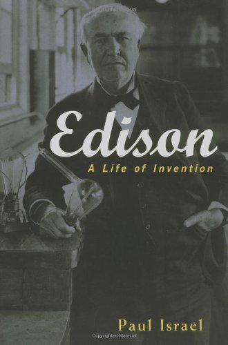 Edison A Life of Invention  1998 9780471362708 Front Cover