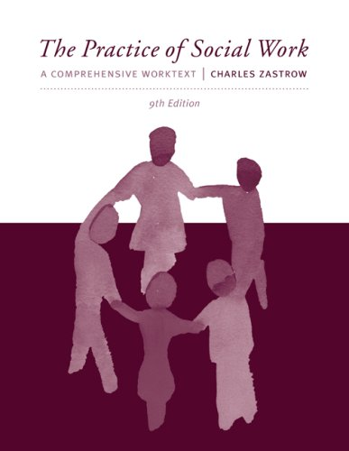 Practice of Social Work A Comprehensive Worktext 9th 2010 edition cover