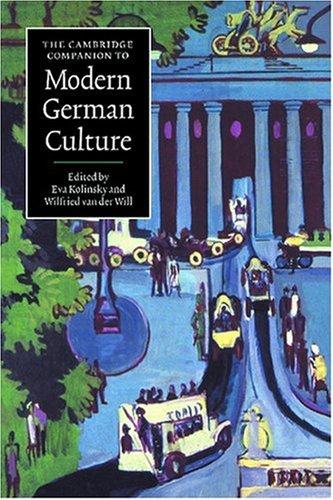 Cambridge Companion to Modern German Culture   1998 edition cover