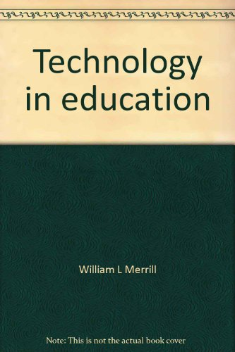 Technology in Education 2nd 2002 9780536632708 Front Cover