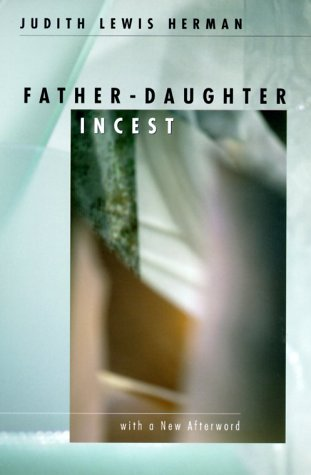 Father-Daughter Incest With a New Afterword  2000 edition cover