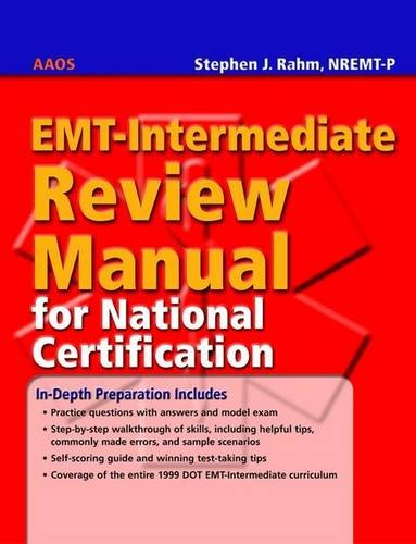 EMT-Intermediate Review Manual for National Certification   2004 9780763764708 Front Cover