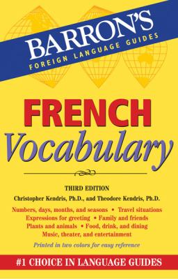 French Vocabulary  3rd 2012 (Revised) edition cover