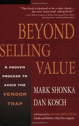 Beyond Selling Value   2002 edition cover