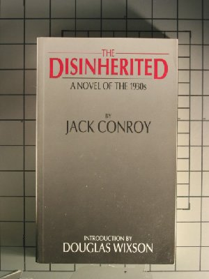 Disinherited A Novel of the 1930s by Jack Conroy 19th (Reprint) edition cover