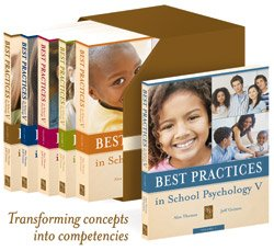 Best Practice in School Psychology V (6 Volumes, 10 Sections, 141 Chapters)   2008 edition cover