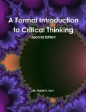 A Formal Introduction to Critical Thinking, Second Edition  0 edition cover