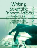 Writing Scientific Research Articles Strategy and Steps 2nd 2013 edition cover