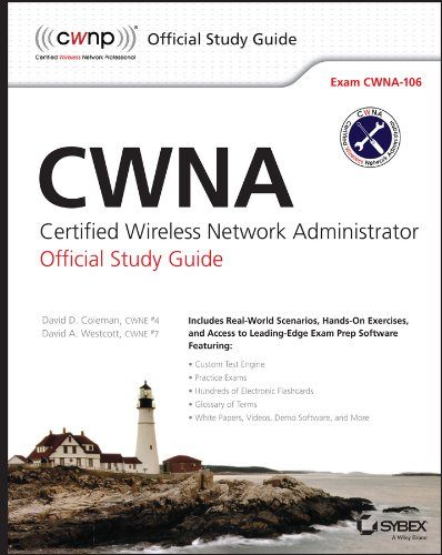 Cwna Certified Wireless Network Administrator Official Study Guide: Exam CWNA-106 4th 2014 edition cover