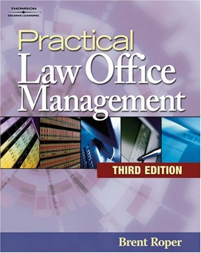 Practical Law Office Management  3rd 2007 (Revised) edition cover