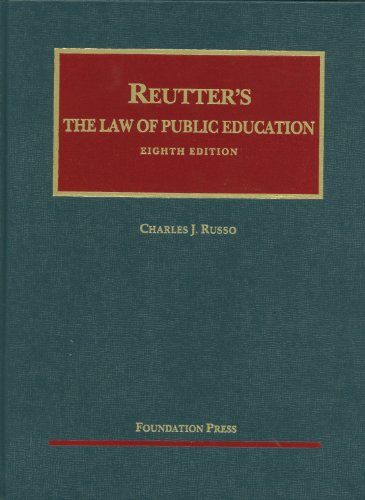 Law of Public Education  8th 2012 (Revised) edition cover