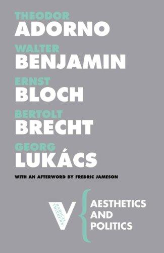 Aesthetics and Politics   2007 edition cover