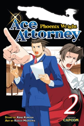 Phoenix Wright: Ace Attorney 2   2011 9781935429708 Front Cover