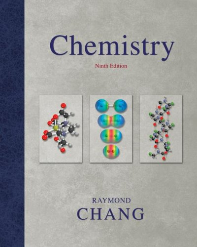 Chemistry  9th 2007 9780073301709 Front Cover