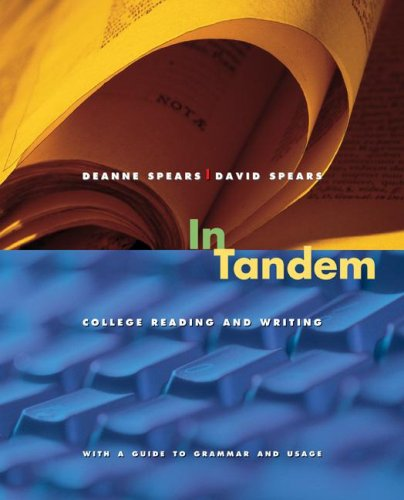 In Tandem College Reading and Writing  2008 edition cover