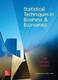 Statistical Techniques in Business and Economics:   2014 edition cover
