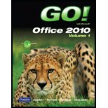 GO! with Microsoft Office 2010, Vol. 1, and Student Videos   2011 9780132743709 Front Cover