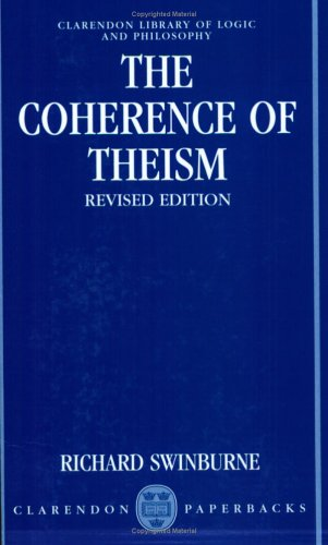 Coherence of Theism  2nd 1993 (Revised) edition cover