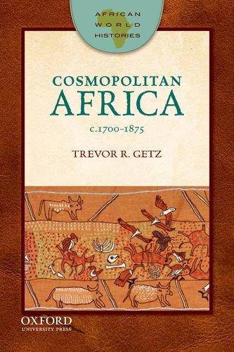 Cosmopolitan Africa, C.1700-1875   2012 edition cover