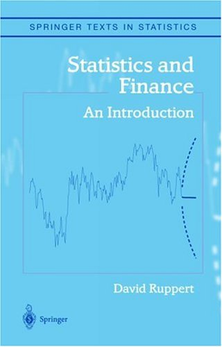 Statistics and Finance An Introduction  2004 edition cover