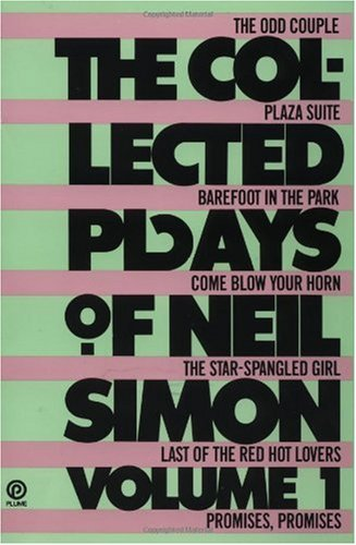 Collected Plays of Neil Simon Volume 1 N/A edition cover