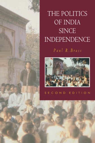 Politics of India since Independence  2nd 1994 (Revised) edition cover