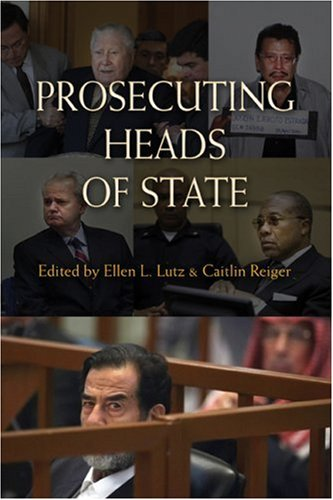 Prosecuting Heads of State   2009 9780521756709 Front Cover