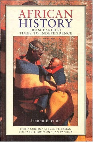 African History From Earliest Time to Independence 2nd 1995 (Revised) edition cover