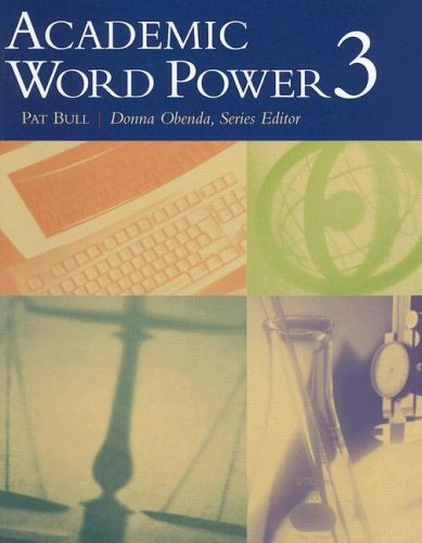 Academic Word Power 3   2004 edition cover