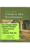 Trimmer Guide to Mla Seventh Edition Plus Writespace  7th 2006 9780618863709 Front Cover