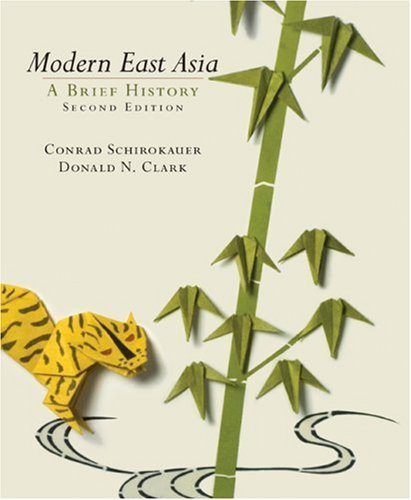 Modern East Asia  2nd 2008 edition cover