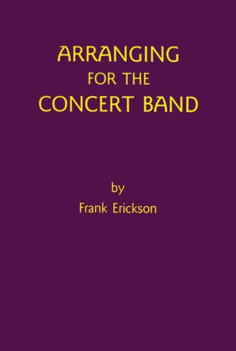 Arranging for the Concert Band   1985 edition cover