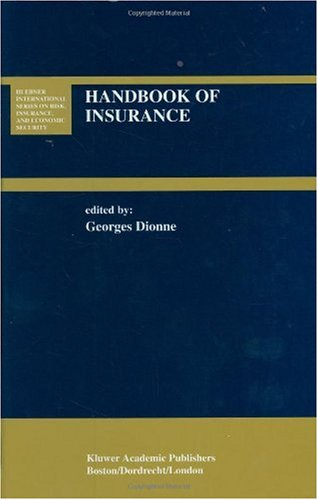 Handbook of Insurance   2001 edition cover