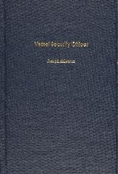 Vessel Security Officer   2006 edition cover