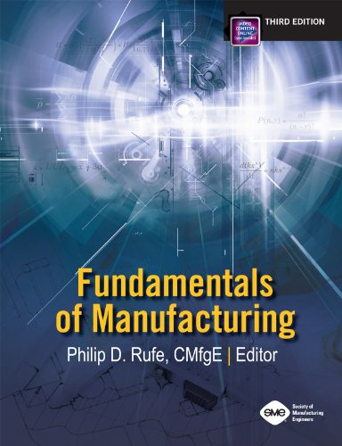 Fundamentals of Manufacturing  3rd 2013 edition cover
