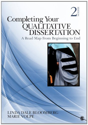 Completing Your Qualitative Dissertation A Road Map from Beginning to End 2nd 2012 edition cover